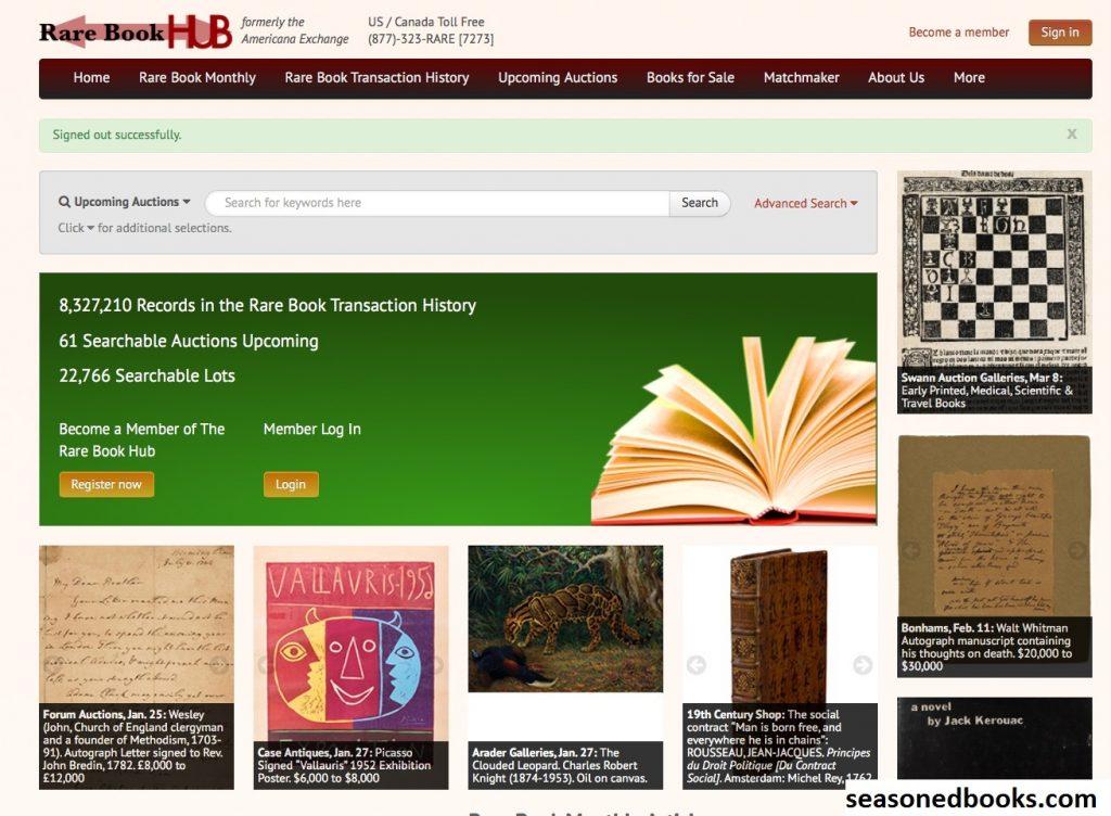 Rare Book Hub, Situs Web Untuk Buku-Buku Langka dan Antik