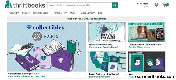 ThriftBooks, Bookseller Online Terpercaya Dari Washington