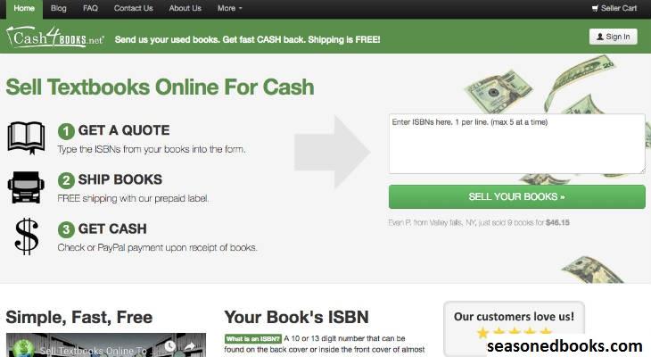 Cash4Books, Situs Untuk Membeli Buku Teks Online