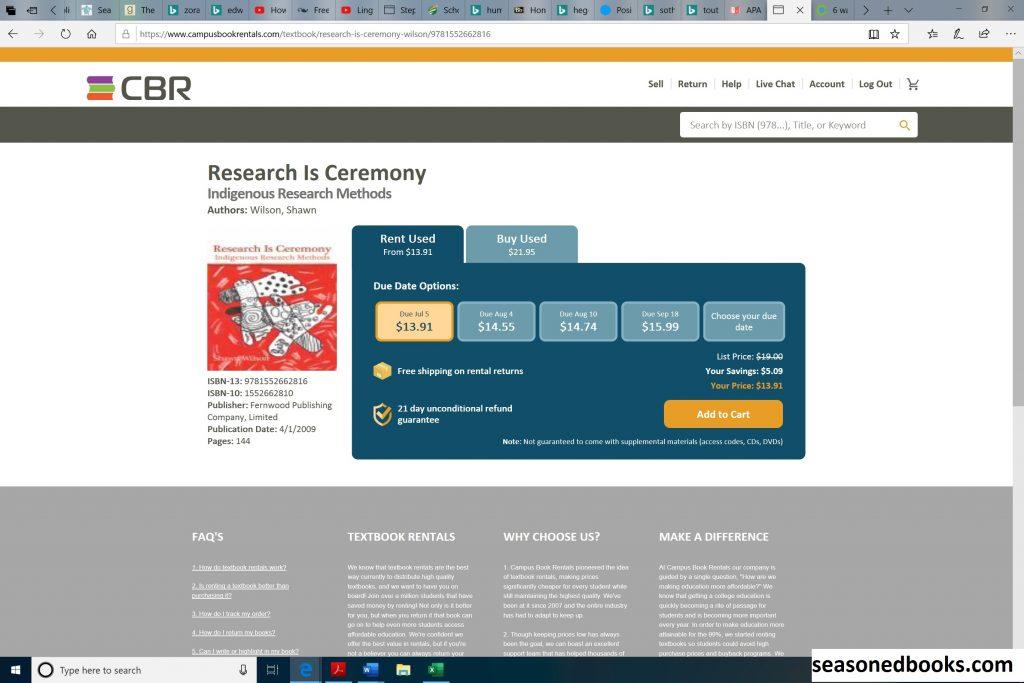 Campus Book Rentals, Penjualan dan Pengiriman Buku Secara Online