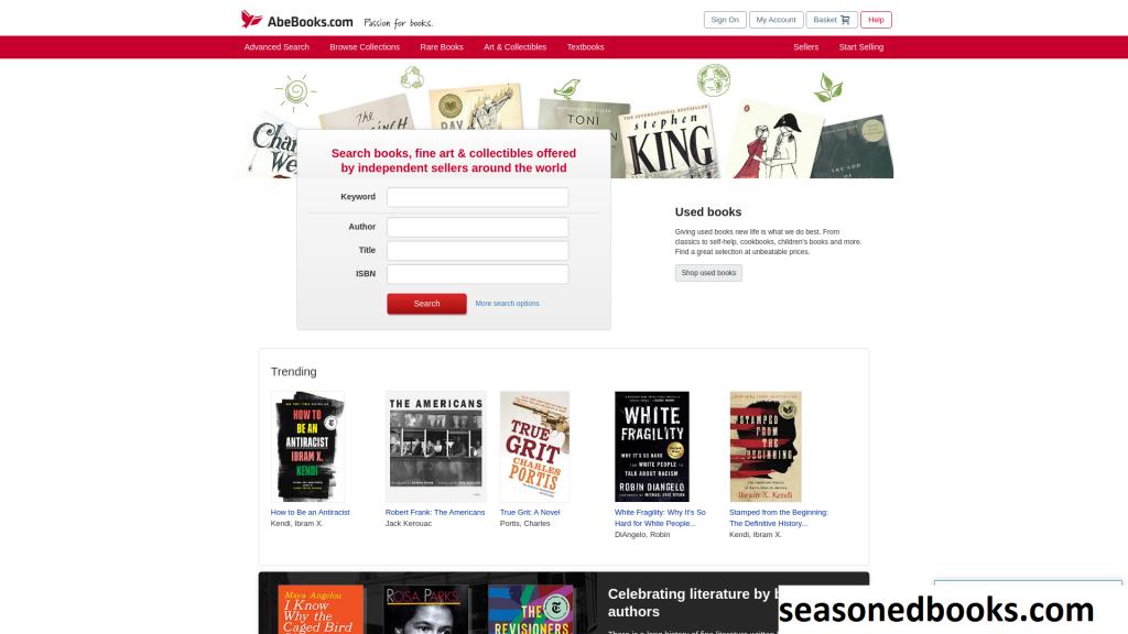 AbeBooks, Tempat Pasar Online Untuk Beragam Jenis Buku